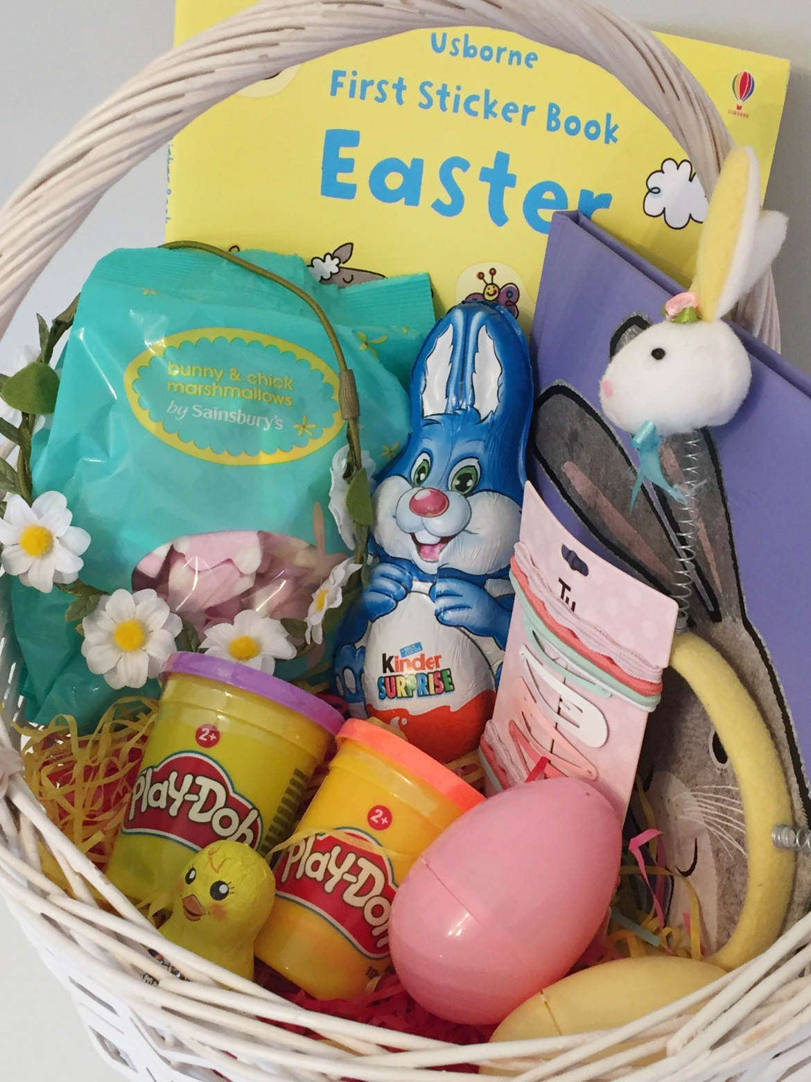 Bellas easter basket life with mrs lee are you making an easter basket for your little one this year negle Choice Image